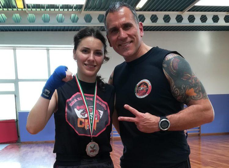 Medaglia di Bronzo sulla Kick Boxing Light ai Campionati Mondiali WFC del 4 aprile (Milano)